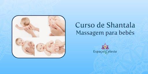 Curso de Capacitação em Shantala - Massagem para Bebês