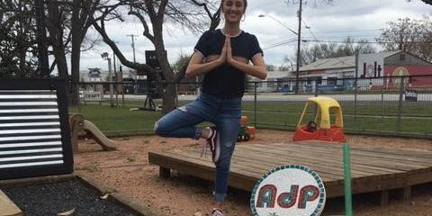 Brunch Yoga at Austin Daily Press