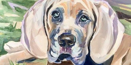 Wine'd Down: Pet Portraits tickets