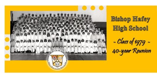 Bishop Hafey High School - Class of 1979 - 40th Reunion