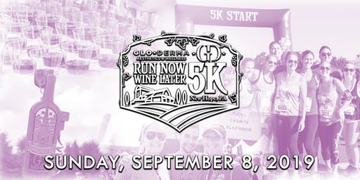 Volunteer for the Run Now Wine Later 5K