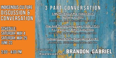 Indigenous Culture Conversation (3 part series) with Brandon Gabriel