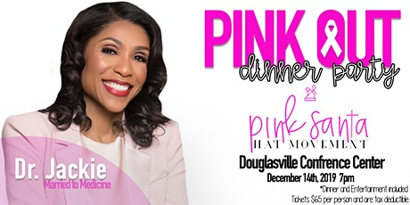Pink Santa Hat Movement Pink Out Dinner Party tickets
