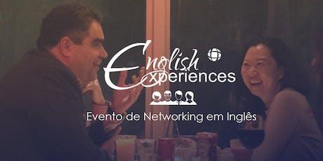 Networking Profissional em  Inglês -  Apresentação em Público ingressos