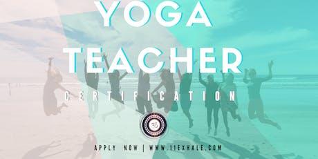 15 Day Advanced 200 Hour Yoga Alliance Yoga Teacher Training Certification tickets