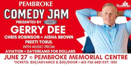Pembroke Comedy Jam tickets