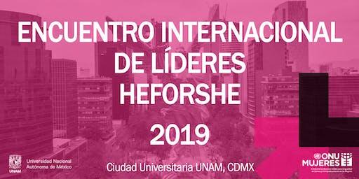 Encuentro Internacional de Líderes HeForShe 2019