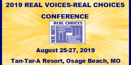 2019 Real Voices, Real Choices Conference - PARTICIPANT REGISTRATION tickets