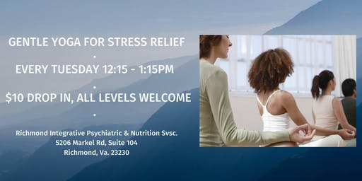 Gentle Yoga for Stress Relief