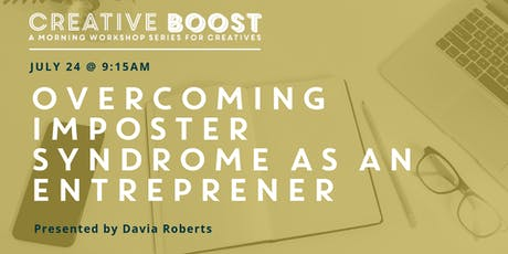 Creative Boost — Overcoming Imposter Syndrome as an Entrepreneur tickets