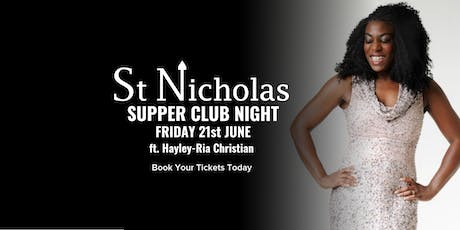 Supper Club ft. Hayley-Ria tickets