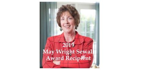 May Wright Sewall Leadership Award and Dinner tickets