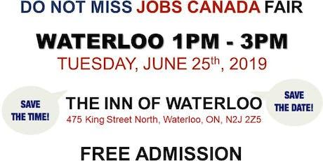Waterloo Job Fair - June 25th, 2019 tickets