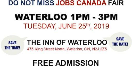 Waterloo Job Fair - June 25th, 2019