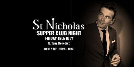 Supper Club ft. Tony Benedict tickets