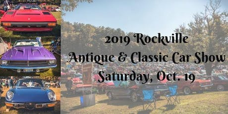 2019 Rockville Antique and Classic Car Show tickets