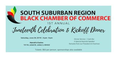 1st Annual Juneteenth Celebration & Kickoff Dinner tickets