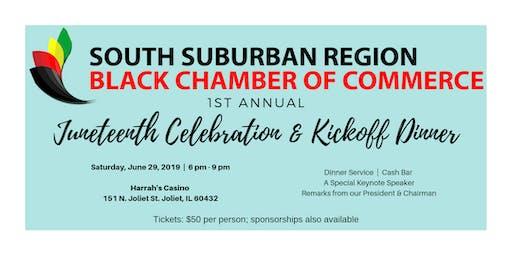1st Annual Juneteenth Celebration & Kickoff Dinner