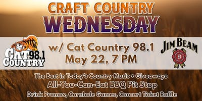 Craft Country Wednesday with CAT COUNTRY 98.1
