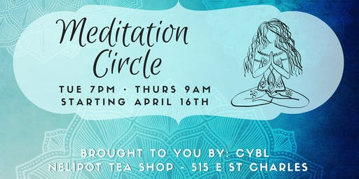 Energy Healing & Meditation Circle with CYBL with Spiritual Tech (at Nelipot Tea Shop)