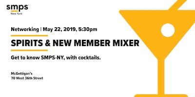 SMPS-NY Spring Spirits & New Member Mixer
