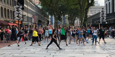 FREE BollyX Classes at Boston Faneuil Hall tickets