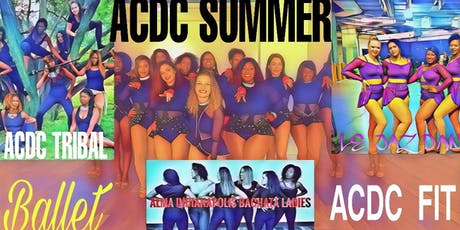 ACDC SUMMER DANCE & FIT (all class monthly fee) tickets