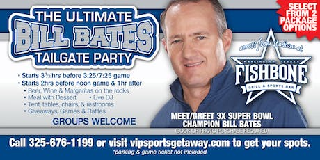 Fun Town RV Presents Ultimate Bill Bates Tailgate Party-Cowboys v REDSKINS tickets