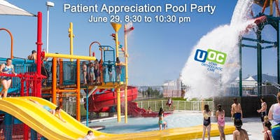 Kearns Rec Center UOC Patient Appreciation Pool Party