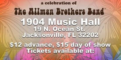 Tribute: A Celebration of The Allman Brothers Band
