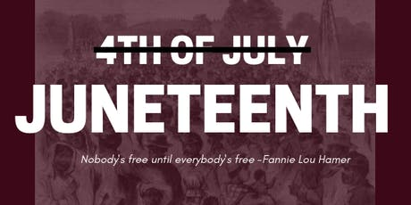 Juneteenth in DC Community Learning Event 2019 tickets