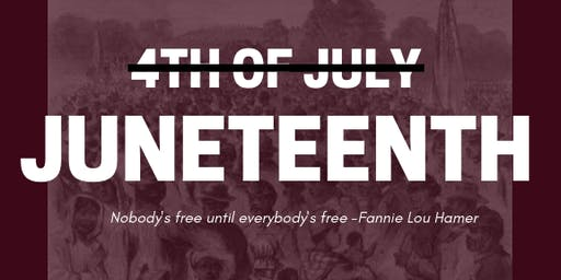 Juneteenth in DC Community Learning Event 2019