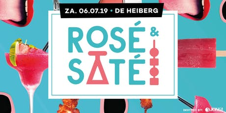 Rosé & Saté Party tickets