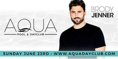 Aqua Dayclub 6/23 DJ Brody Jenner tickets