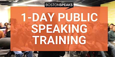 1-Day Public Speaking Training Intensive   BostonSpeaks tickets