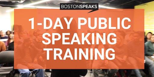 1-Day Public Speaking Training Intensive | BostonSpeaks