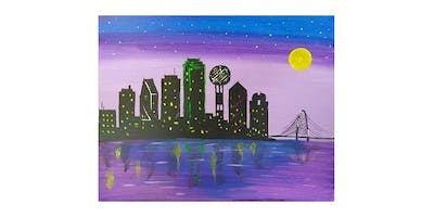 Paint Party at The Ginger Man (Uptown Dallas) I 06.26.19
