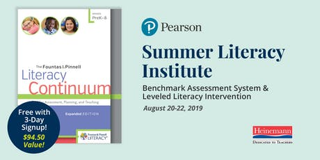 Summer Literacy Institute (Fountas & Pinnell - BAS and LLI) tickets