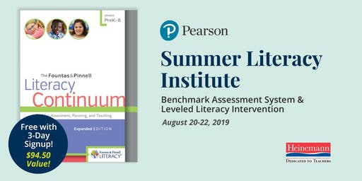 Summer Literacy Institute (Fountas & Pinnell - BAS and LLI)