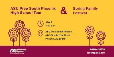 ASU Prep South Phoenix School Tour and Spring Festival