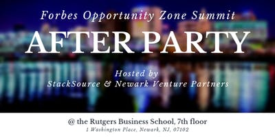 Forbes Opportunity Zones Summit - StackSource afterparty