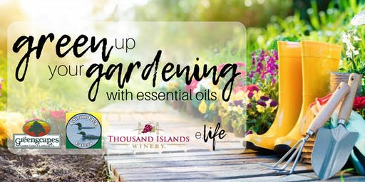 Green Gardening with Essential Oils: Make + Take