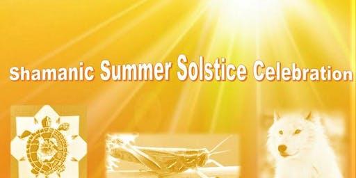 Shamanic Summer Solstice Event with Irma StarSpirit Turtle Woman, Judith Grasshopper  & Rosangel Lil' Wolf