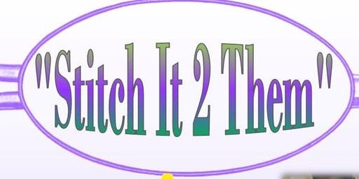 """Stitch it 2 Them"" Fashion Saturdays!"