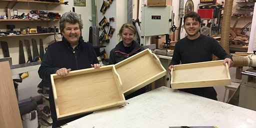 Beginner's Woodwork Course - make a serving tray, 10am-4pm