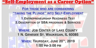 """Self-Employment as a Career Option"" with the Small Business Administration"