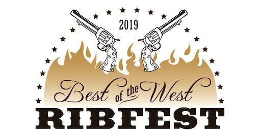 21 and older, Jones Contractors Best of the West Ribfest VIP Tent