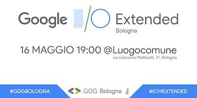 Google I/O Extended Bologna 2019