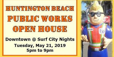 The City of Huntington Beach Public Works Open House