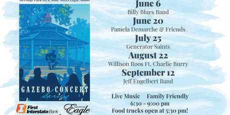 Gazebo Concert Series tickets